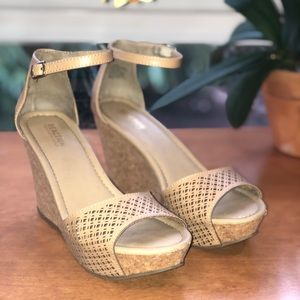 KENNETH COLE REACTION Wedge Sandals, 8.5